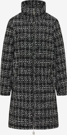 DreiMaster Vintage Mantel in schwarz / weiß, Produktansicht