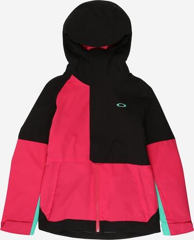 OAKLEY Outdoorjas 'CAMELLIA' in de kleur Mintgroen / Pink / Zwart, Productweergave