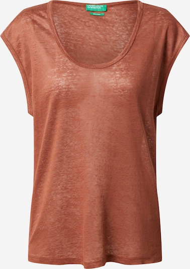 UNITED COLORS OF BENETTON Shirt in Brown, Item view