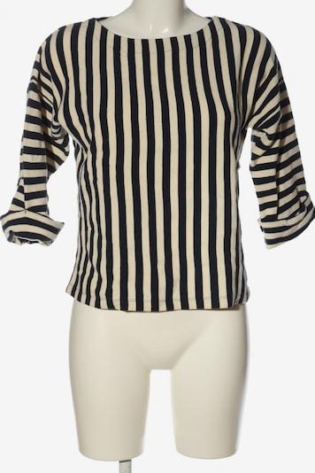 Bellerose Sweatshirt & Zip-Up Hoodie in L in Black / Wool white, Item view