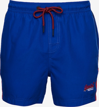 Superdry Sportzwembroek in de kleur Kobaltblauw, Productweergave