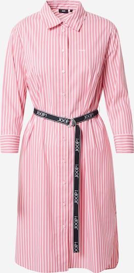 JOOP! Robe-chemise 'Dafina' en rose / blanc, Vue avec produit