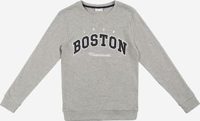 Guppy Sweatshirt 'LUDO' in navy / graumeliert / weiß, Produktansicht