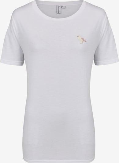 Cleptomanicx Shirt in weiß, Produktansicht
