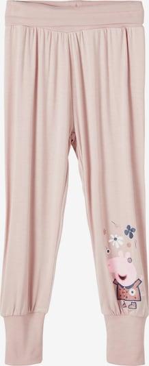 NAME IT Broek 'Peppa Pig' in de kleur Nachtblauw / Rosa / Rosé / Poederroze / Wit, Productweergave