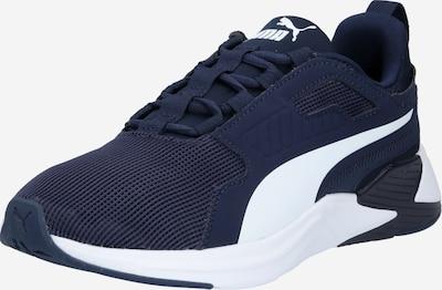 PUMA Chaussure de sport 'Disperse' en bleu foncé / blanc, Vue avec produit