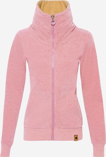 Fli Papigu Sweat jacket 'Beast Mode' in mottled pink, Item view