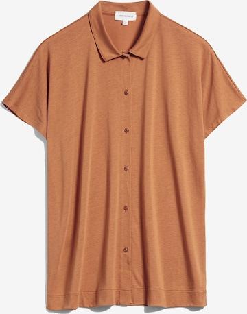 ARMEDANGELS Bluse ' Naala ' in Orange