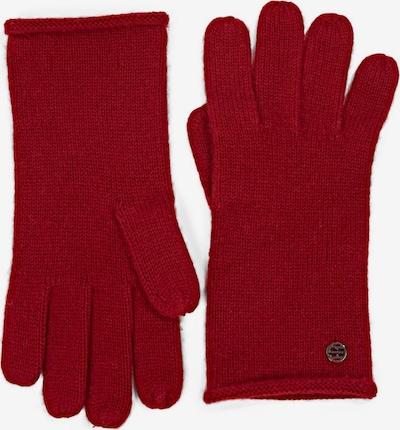 ESPRIT Fingerhandschuhe in dunkelrot, Produktansicht