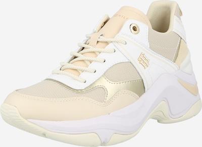 Sneaker low TOMMY HILFIGER pe bej / crem / auriu / alb, Vizualizare produs
