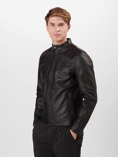 Michael Kors Starpsezonu jaka, krāsa - melns, Modeļa skats