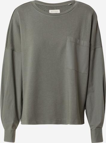 Marc O'Polo Sweatshirt in Grün