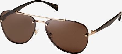 Y's Sonnenbrille YS7004-403 in braun / dunkelbraun / gold, Produktansicht