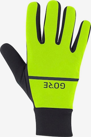 GORE WEAR Athletic Gloves in Yellow