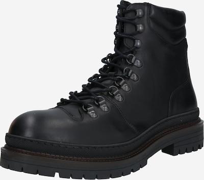 SELECTED HOMME Buty sznurowane 'LANDON' w kolorze czarnym: Widok z przodu