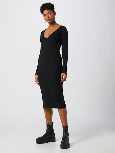 LeGer by Lena Gercke Adīta kleita 'Josefin' melns, Modeļa skats