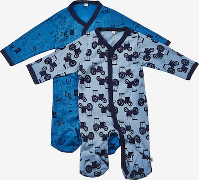 Pippi Schlafanzug in dunkelblau, Produktansicht