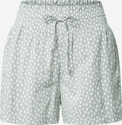 Abercrombie & Fitch Trousers in Mint / White, Item view
