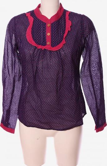 ICHI Hemd-Bluse in S in lila / rot, Produktansicht
