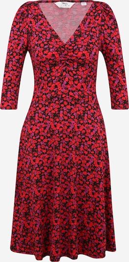 Dorothy Perkins (Tall) Jurk in de kleur Lila / Rood / Zwart, Productweergave