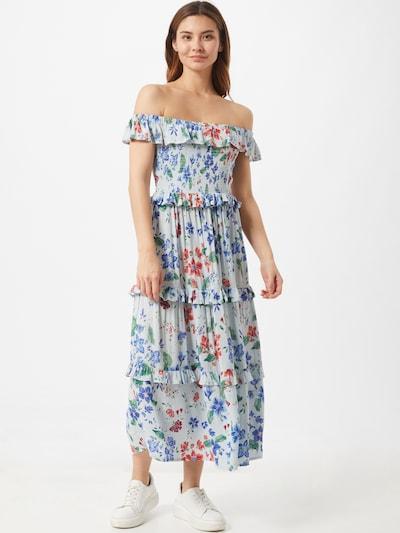 Dorothy Perkins Kleid 'FLAMNCO' in mischfarben / weiß, Modelansicht