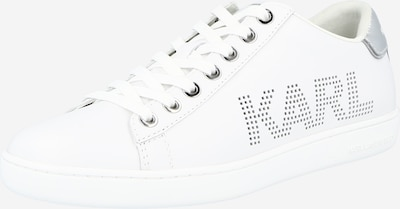 Sneaker low 'KUPSOLE II' Karl Lagerfeld pe argintiu / alb, Vizualizare produs