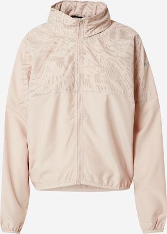 NIKE Athletic Jacket in Pink