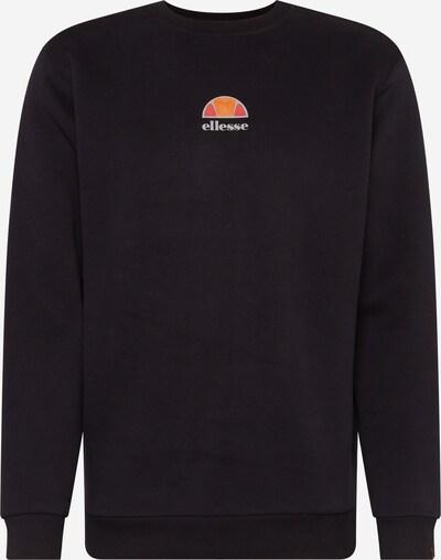ELLESSE Sweatshirt in de kleur Sinaasappel / Oranjerood / Zwart / Zilver, Productweergave