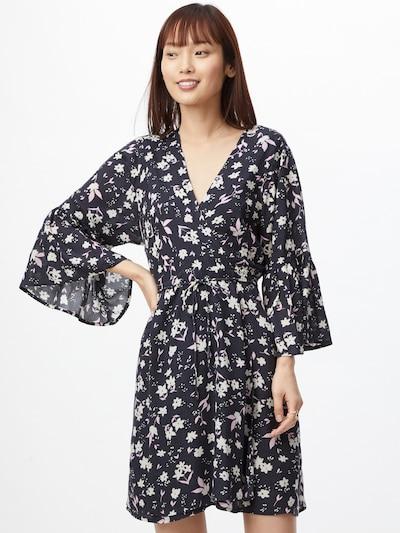 BILLABONG Kleid 'DIVINE' in nachtblau / weiß, Modelansicht