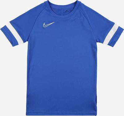 NIKE Sportshirt 'Academy' in royalblau / weiß, Produktansicht
