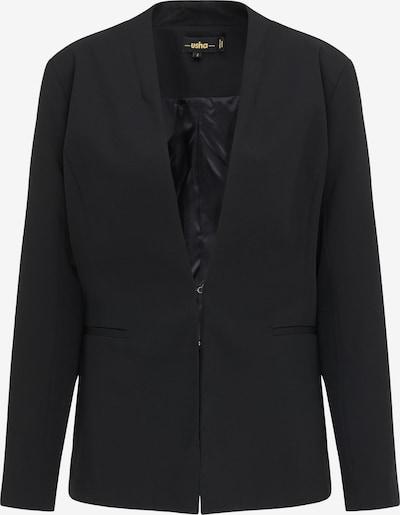 usha BLACK LABEL Blazer in schwarz, Produktansicht