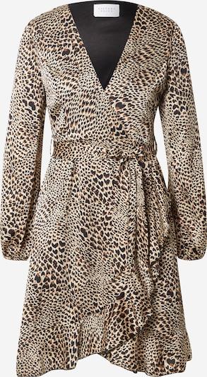 SISTERS POINT Kleid 'Greto' in beige / braun / schwarz, Produktansicht