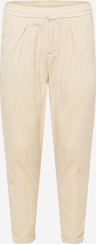 Pantaloni con piega frontale 'Johnny' di Redefined Rebel in beige