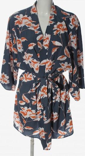 PIECES Kimono in XL in blau / hellorange / weiß, Produktansicht