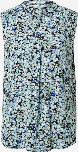 TOM TAILOR Bluza | modra / mešane barve barva, Prikaz izdelka