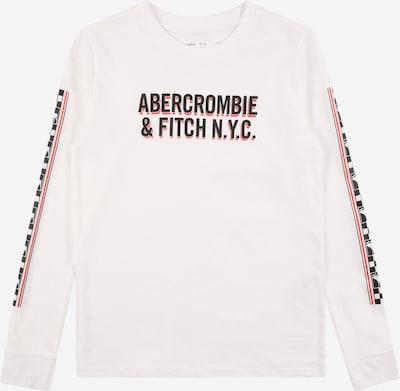 Abercrombie & Fitch Camiseta en rojo / negro / blanco, Vista del producto