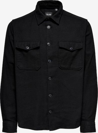 Camicia 'Milo' Only & Sons di colore nero, Visualizzazione prodotti