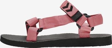 Sandales de randonnée Hummel en rose