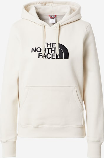 THE NORTH FACE Sweatshirt 'Drew Peak' in schwarz / offwhite, Produktansicht