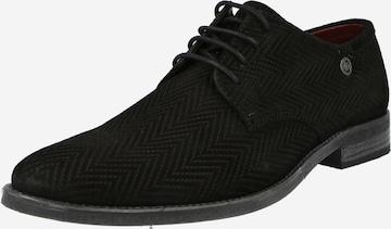 bugatti Lace-up shoe 'Lair' in Black