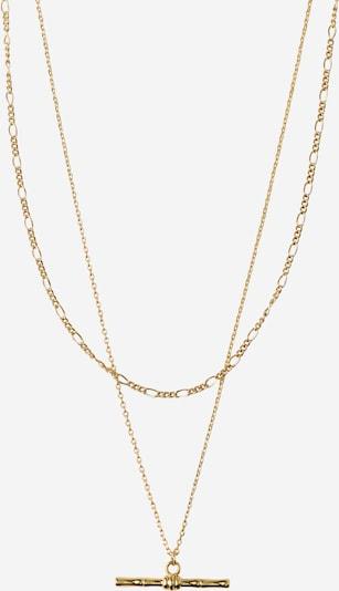 Orelia Verižica 'Bamboo' | zlata barva, Prikaz izdelka