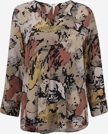 OBJECT Tall Bluse 'STINE BAY' i blandingsfarger