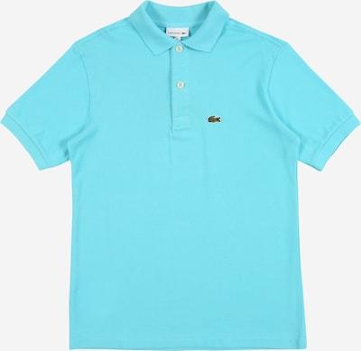 Marškinėliai iš LACOSTE , spalva - turkio spalva / žalia / balta, Prekių apžvalga