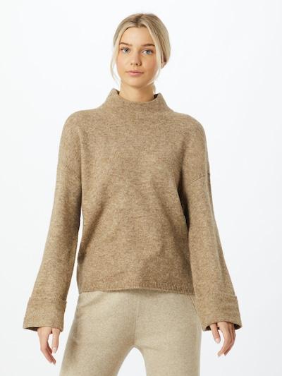 VERO MODA Pullover 'PLAZA' in beige, Modelansicht