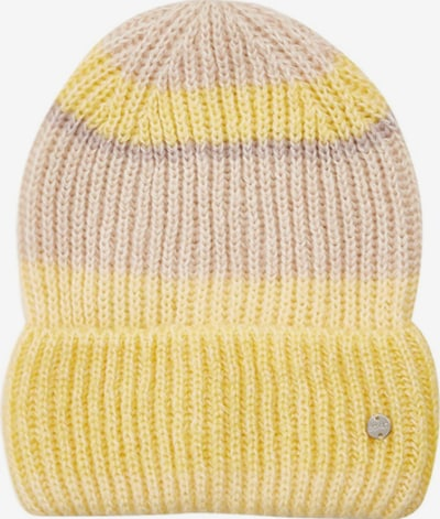 ESPRIT Beanie in Yellow / Lilac, Item view