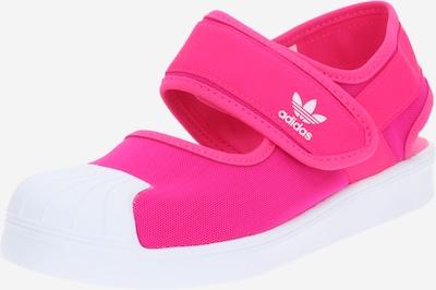 ADIDAS ORIGINALS Zapatos abiertos 'SANDA' en rosa / blanco, Vista del producto
