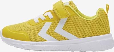 Hummel Sportschuh in gelb / weiß, Produktansicht