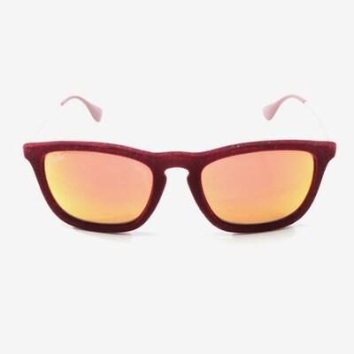 Ray-Ban Sonnenbrille in One Size in weinrot / silber, Produktansicht