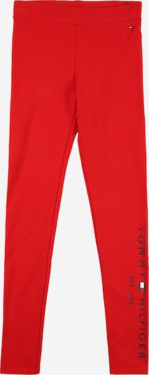 TOMMY HILFIGER Leggings 'ESSENTIAL' in navy / rot / weiß, Produktansicht