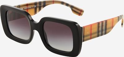 BURBERRY Saulesbrilles '0BE4327', krāsa - tumši dzeltens / asinssarkans / melns, Preces skats